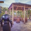 【PS4】[コナン アウトキャスト]建築日記~おしゃれな庭園付きの酒場作りに挑戦!